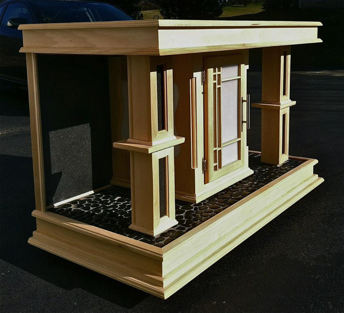 Aquarium stand cz woodworking for Fish tank stand